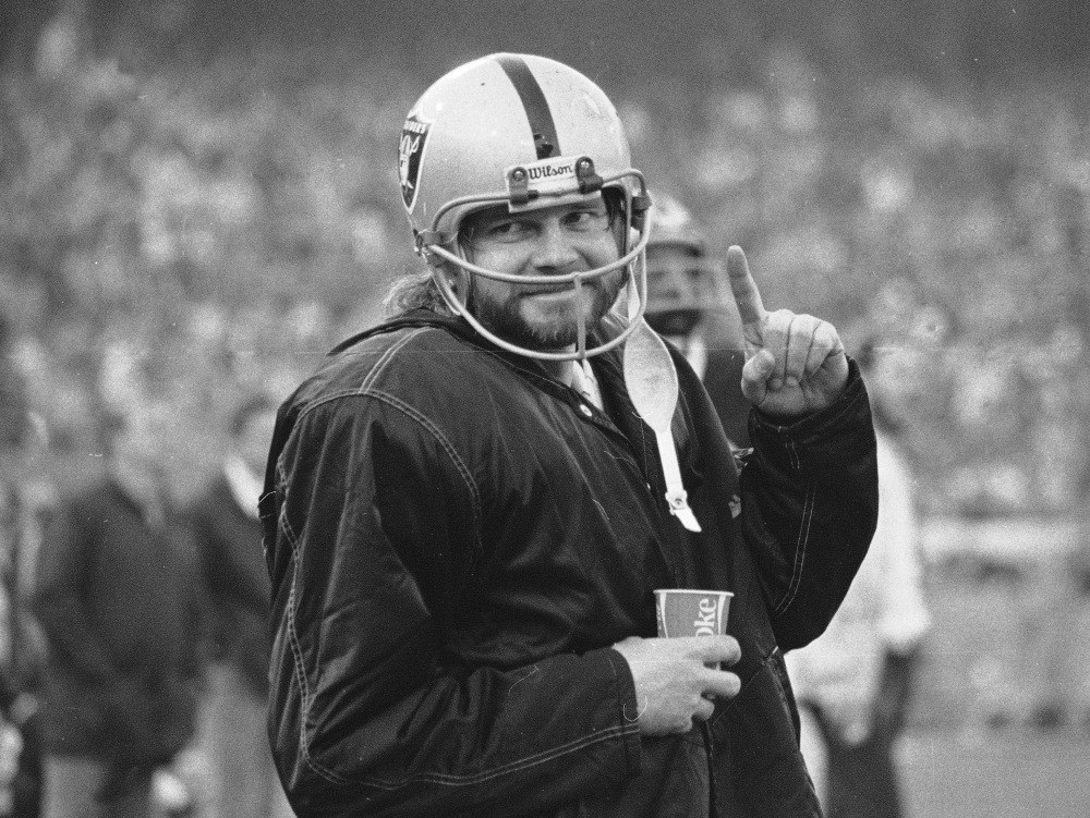 In this Dec. 27, 1976, file photo, Oakland Raiders quarterback Ken Stabler stands on the sidelines during the second half of AFC championship game against the Pittsburgh Steelers in Oakland, Calif.