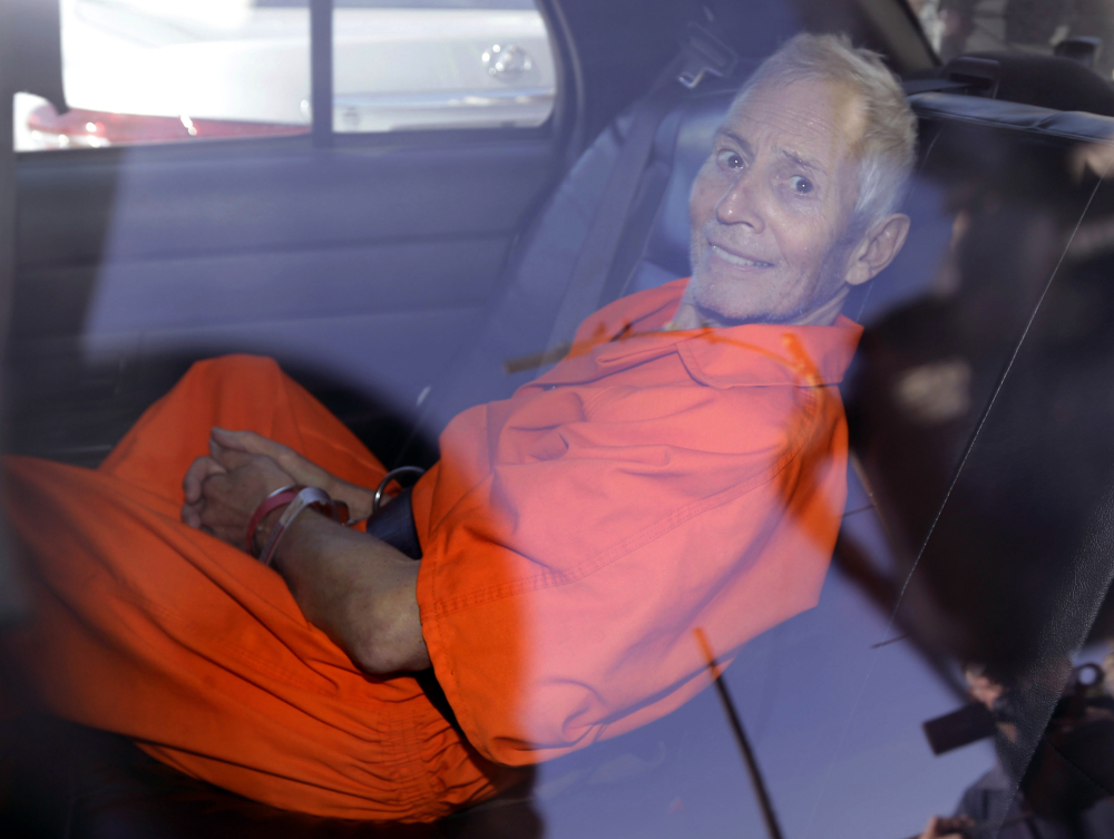 """Robert Durst, who was the subject of the HBO documentary """"The Jinx,"""" pleaded guilty to illegally carrying a .38-caliber revolver after a felony conviction."""