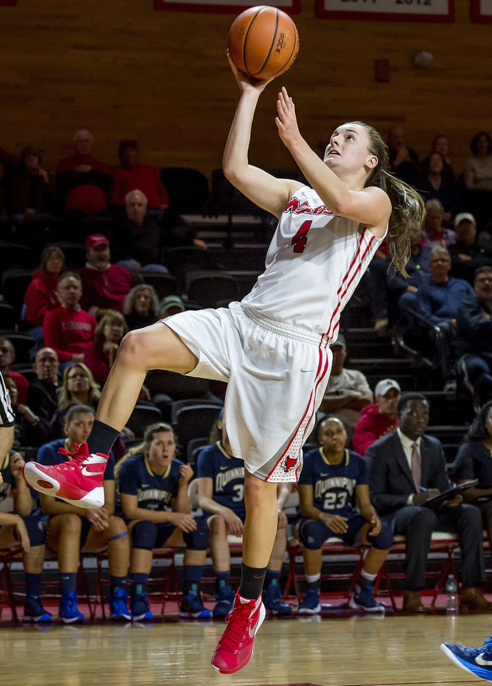 Allie Clement has taken on a leadership role at Marist College on a team with seven freshmen on the roster.