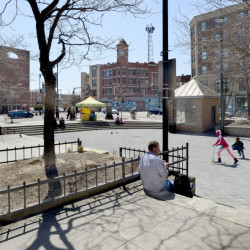 The city of Portland has chosen an artist to design a project in Congress Square Park.