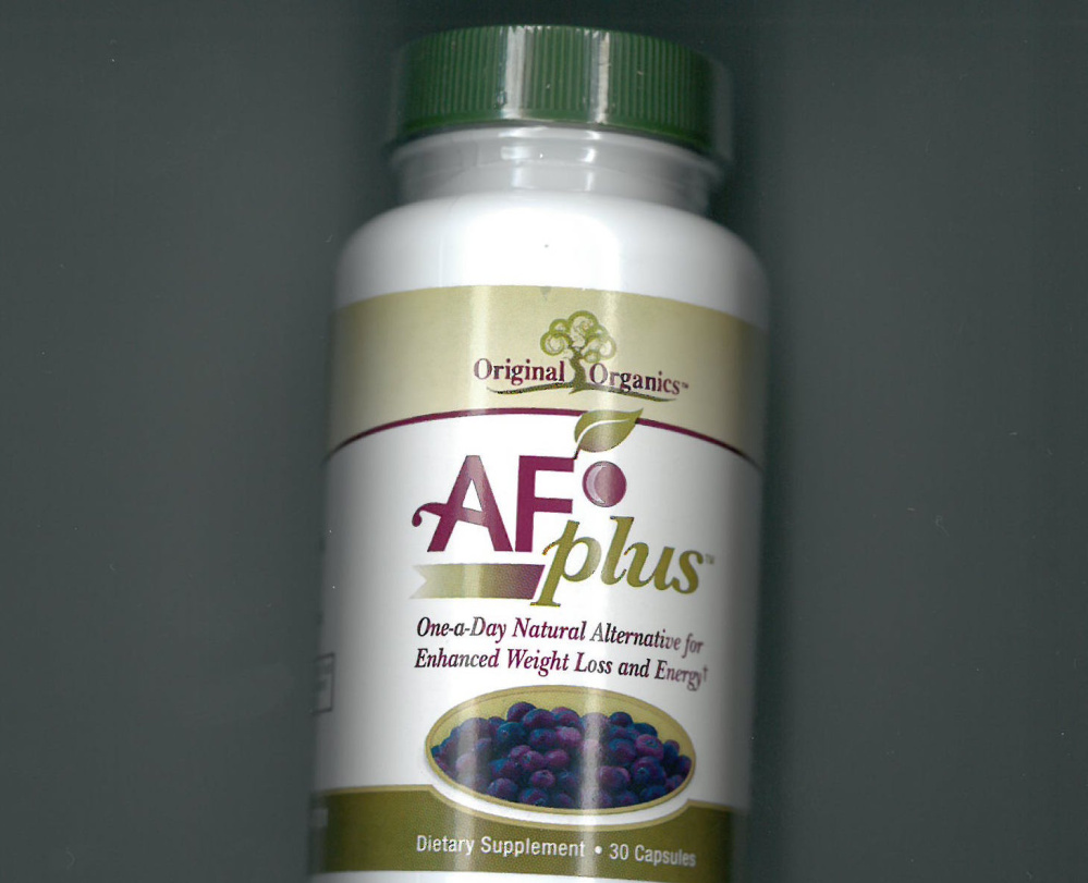 A Scarborough couple has agreed to stop making false claims about weight loss and diet supplements that they were selling, including a product called AF Plus.