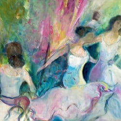 """Dreamy Dancers"" by Juliette Tehrani."