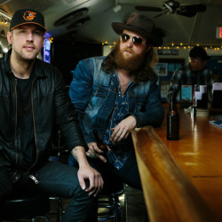 The Brothers Osborne – TJ, left, and John – at Happy Harbor, a popular restaurant in their small hometown of Deale, Md.