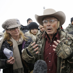 LaVoy Finicum was remembered as a principled hero Friday during a church service in Kanab, Utah.