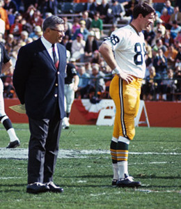 Dick Capp played just one season with Green Bay but it was memorable. Great players, and one of the sport's greatest coaches in Vince Lombardi.