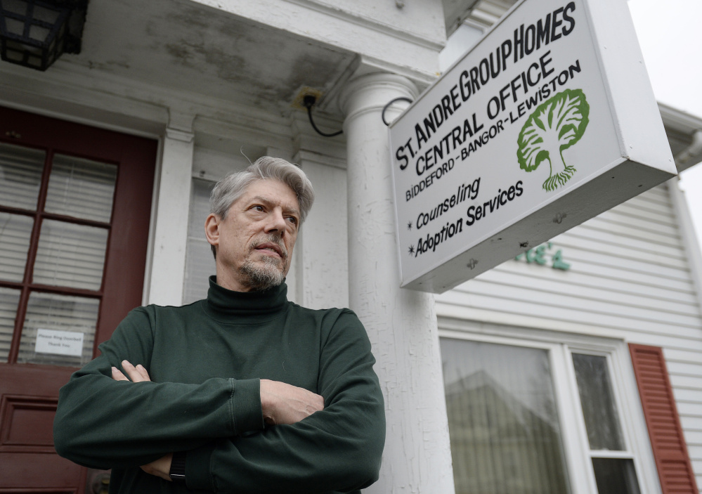 """""""It was a hard decision to make,"""" says Reid Scher, executive director of St. Andre Home, about the nonprofit agency's plans to end longtime programs for pregnant women. Shawn Patrick Ouellette/Staff Photographer"""