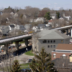 The Bath Viaduct on Route 1 will be replaced because of its worn supporting piers and roadway at a cost of $15 million. It will be rebuilt in place and look much the same as it does now.