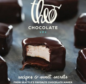 """""""Theo Chocolate: Recipes & Sweet Treats from Seattle's Favorite Chocolate Maker"""" is packed with ideas for decadent desserts and unexpected savory dishes."""