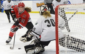 Sami Shoebottom has been very reliable this season for Scarborough, which enters Wednesday's regional final against Falmouth with a 17-1-1 record, which is good enough for the top seed.