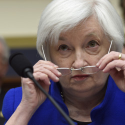 "Federal Reserve Board Chair Janet Yellen told Congress on Wednesday, ""Financial conditions in the United States have recently become less supportive of growth."""