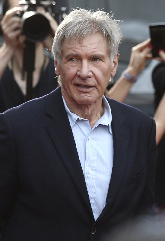 """British health authorities said Thursday that criminal charges have been filed against the producers of """"Star Wars: The Force Awakens"""" over an on-set accident in which actor Harrison Ford broke his leg. The Associated Press"""