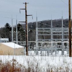 The Central Maine Power Co. substation on Albion Road in Benton has been the subject of noise complaints by area residents and is being investigated by the Public Utilities Commission.