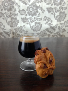 Pumpkin chocolate chip cookies paired with beer. Testers found the flavors of beer mingled well with the sugar, butter and spices in the cookies. Dave Patterson