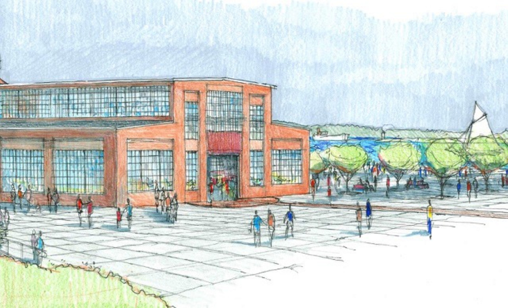 A concept drawing of the Portland Co. complex rehabilitation.