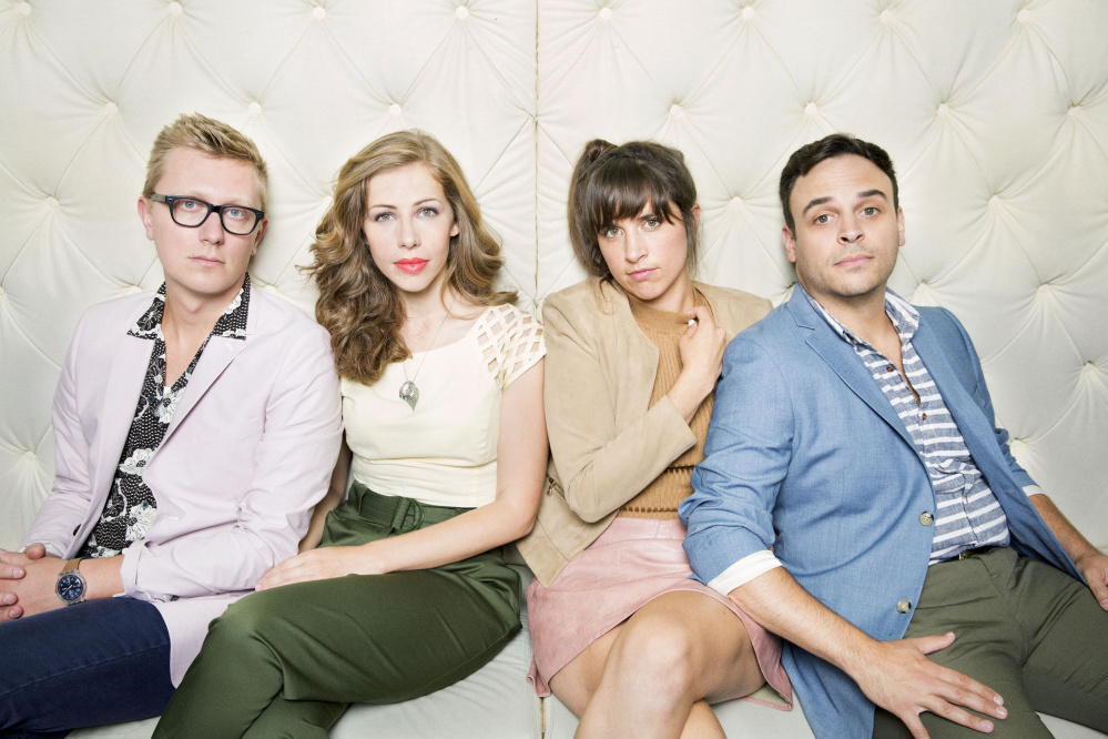 Lake Street Dive is, from left, Mike Olson, Rachael Price, Bridget Kearney and Mike Calabrese.