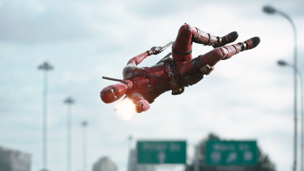 Ryan Reynolds stars as foul-mouthed superhero Deadpool.