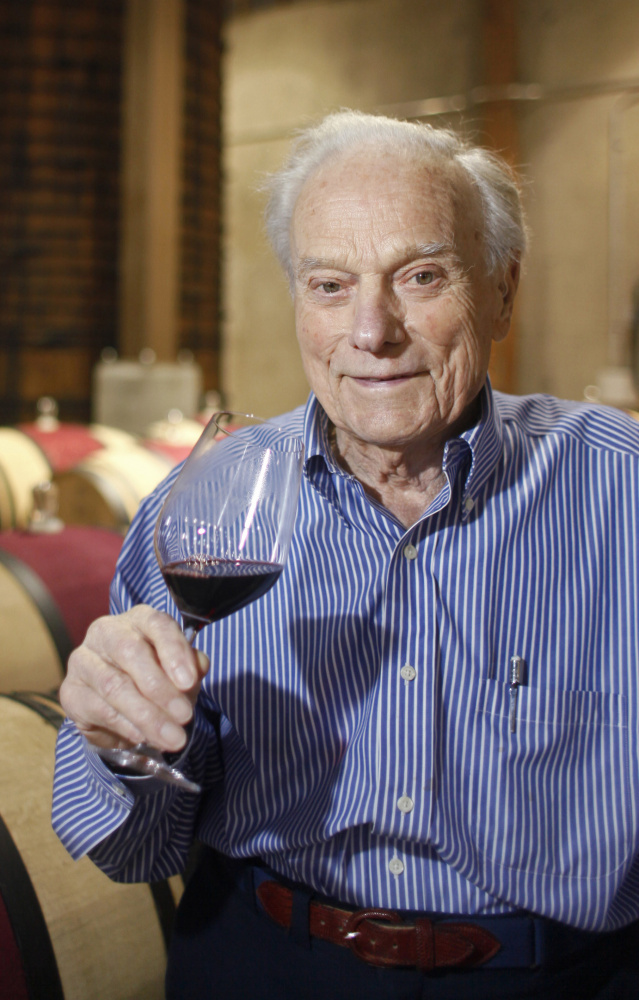 Good genes, hard work, pasta Bolognese  – and a daily glass of cabernet sauvignon – were Peter Mondavi's secrets to a long, fulfilling life.