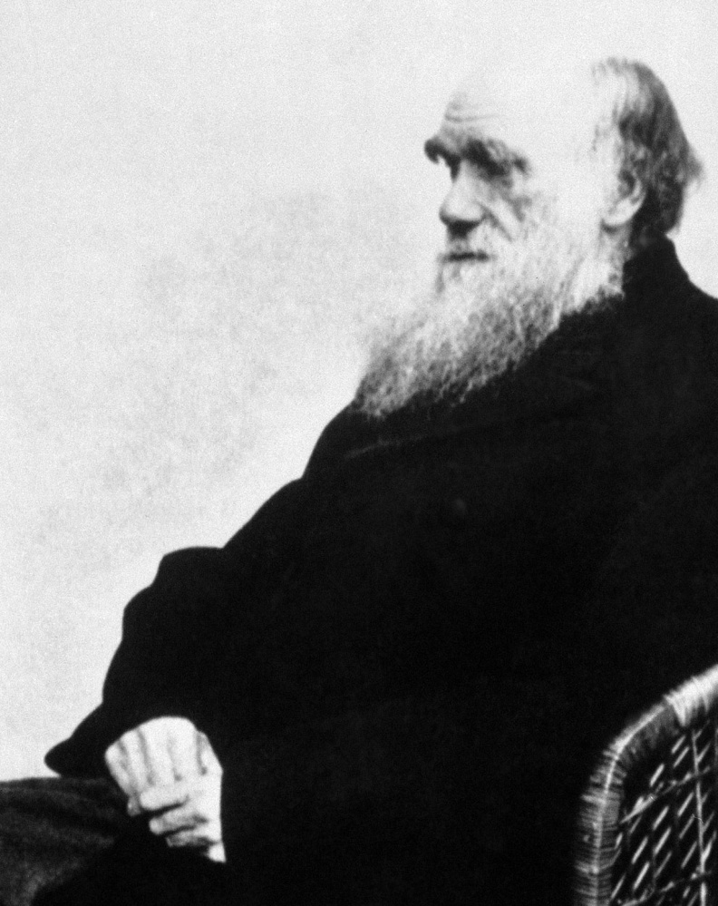 Charles Darwin portrayed in a new app features actor Randy Kovitz, who fields 199 questions about the pioneering scientist.