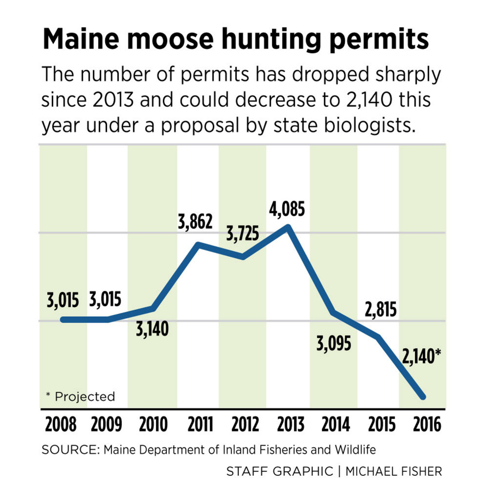 Cut hunting permits 24 percent so public sees more maine for State of maine fishing license