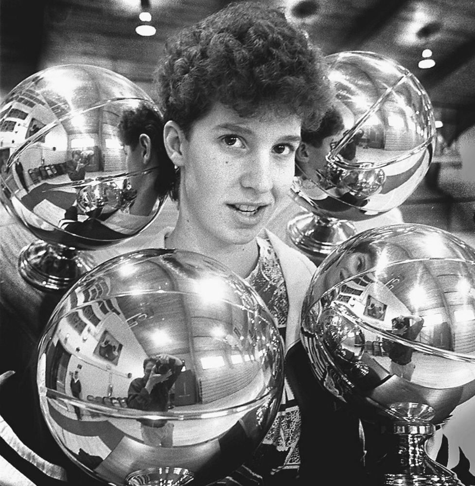 Cindy Blodgett left a legacy that still resounds at Lawrence High and throughout the state, including four Gold Balls in the early 1990s and an eye-popping 2,596 points.