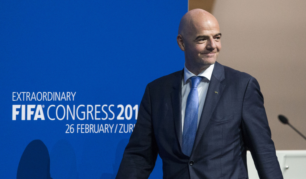Gianni Infantino was not considered the favorite when voting began Friday for FIFA president, but held a slim lead after the first ballot and pulled away on the second.