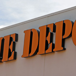 Signage at a Home Depot in Hialeah, Fla. (AP Photo/Alan Diaz)