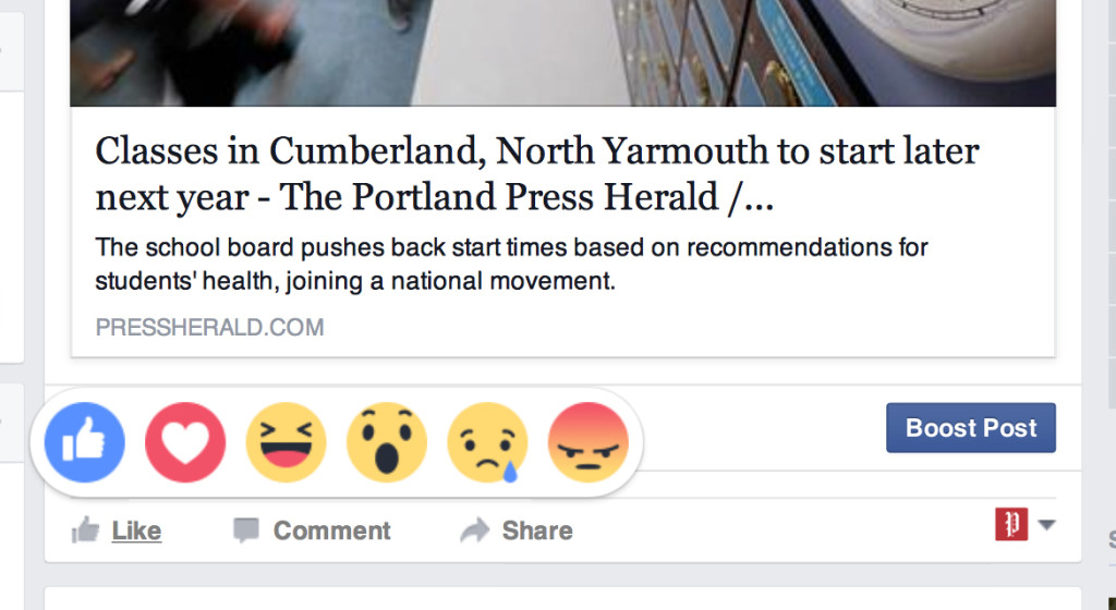Facebook chose to offer more nuanced reactions Facebook introduces new flavord of