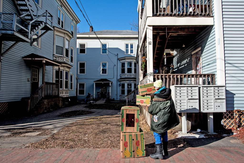 "Mayor Ethan Strimling said at Thursday's meeting that the eviction of tenants from a 24-unit apartment building at 61-69 Grant St. in February was a ""wake-up"" call for the city. 2016 Press Herald file photo/Gabe Souza"