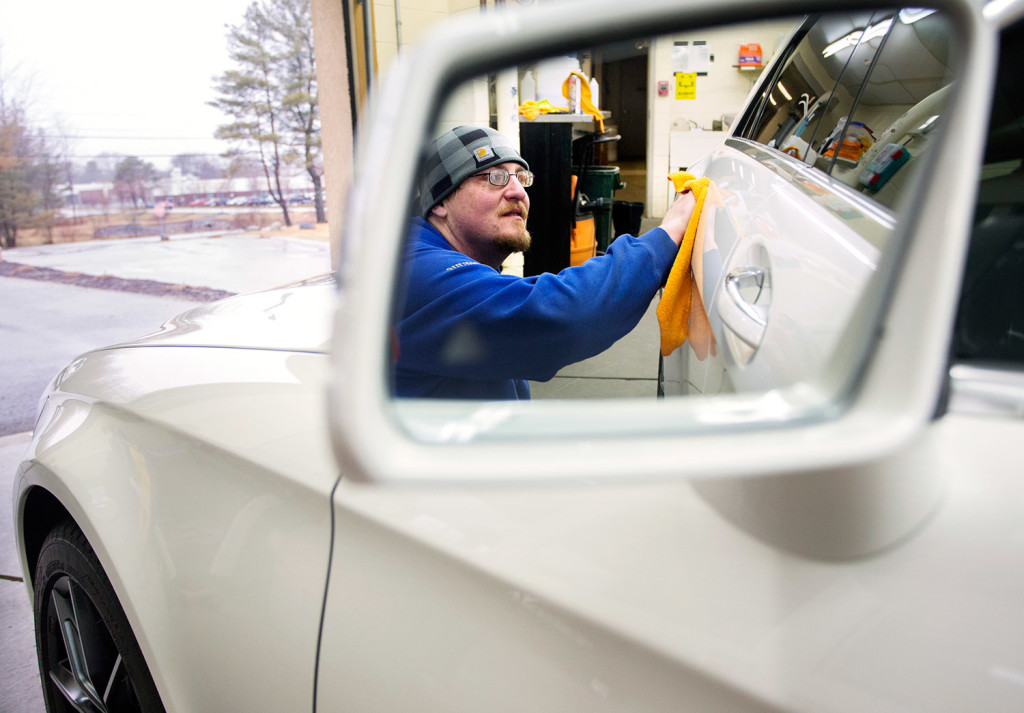 On the Job: Donnie Parker likes to shine as auto detailer - Portland ...
