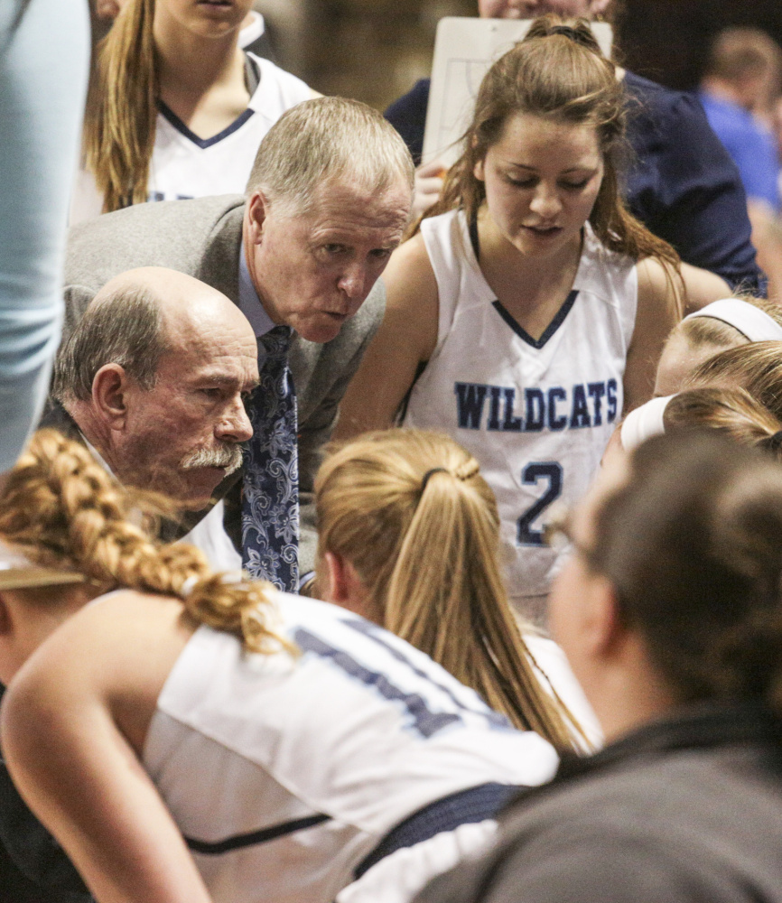 Rick York's last game as the York girls' basketball coach was one to remember, a 58-57 win over Lawrence in the Class A state title game.