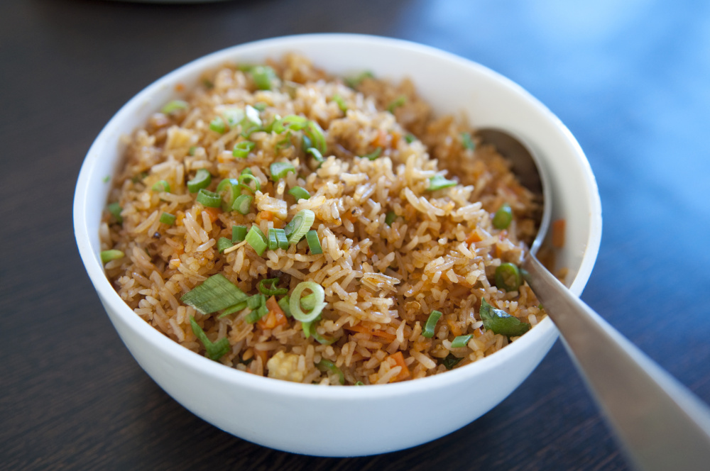 A Singapore-inspired fried rice dish is a vegetarian entree choice at Tempo Dulu in Portland.  Courtesy photo