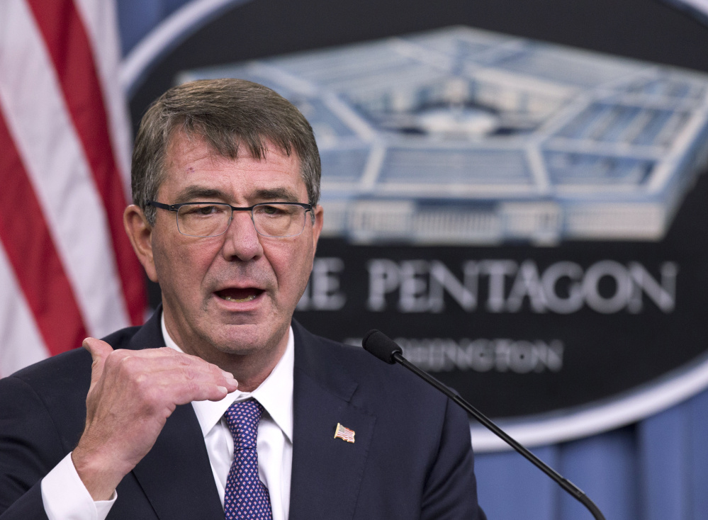 """Defense Secretary Ash Carter, in a statement announcing a hackers' challenge program, says he wants people to """"think outside the five-sided box that is the Pentagon."""""""