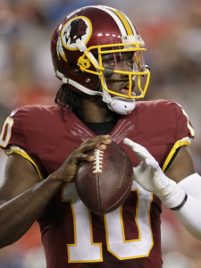 Robert Griffin III, once thought to be the future as quarterback for Washington, was released by the team to clear salary-cap space.