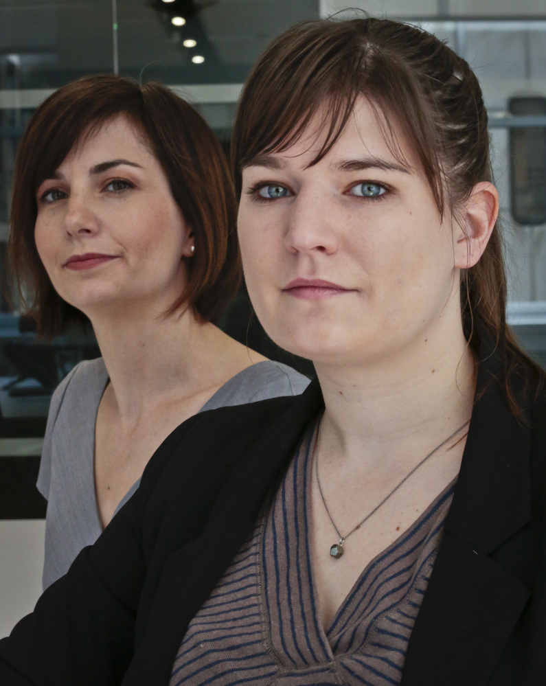 Natalie Brasington, right, has brought a class action suit against New York to end sales tax on feminine  hygiene products.