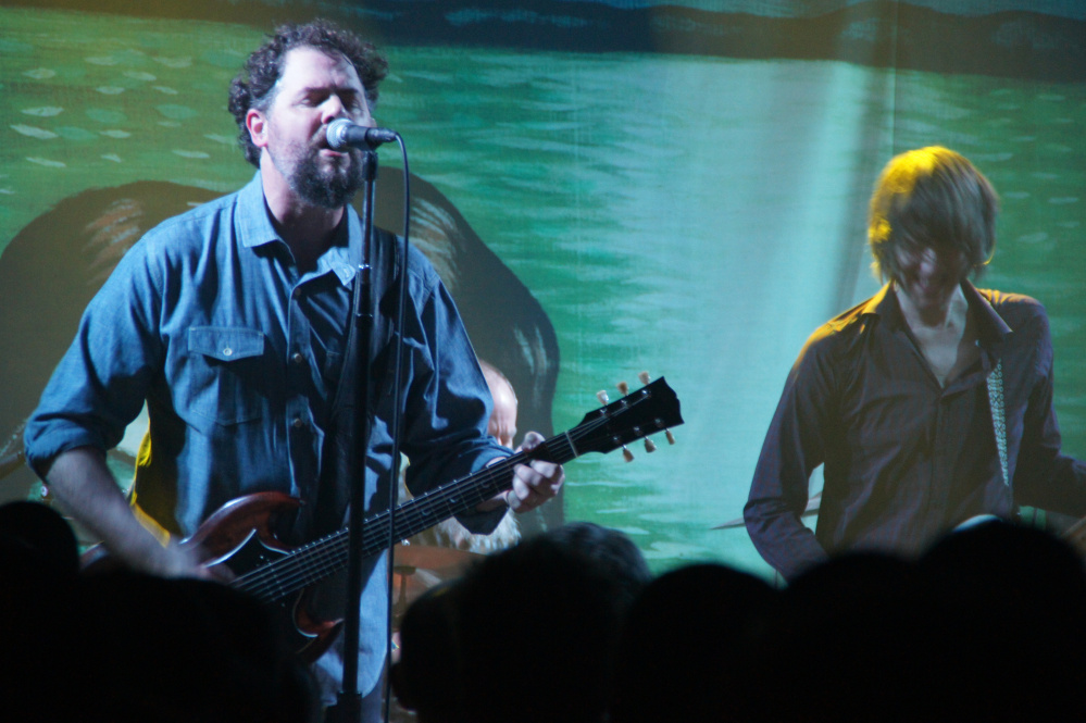 Patterson Hood of the Drive-By Truckers at Port City Music Hall on March 10.