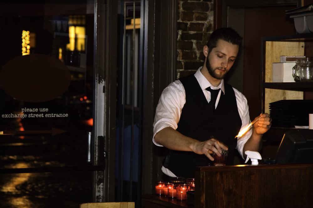 """The Bartender,"" by Michael McAllister"