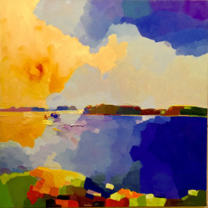 """Southwest from Harpswell"""