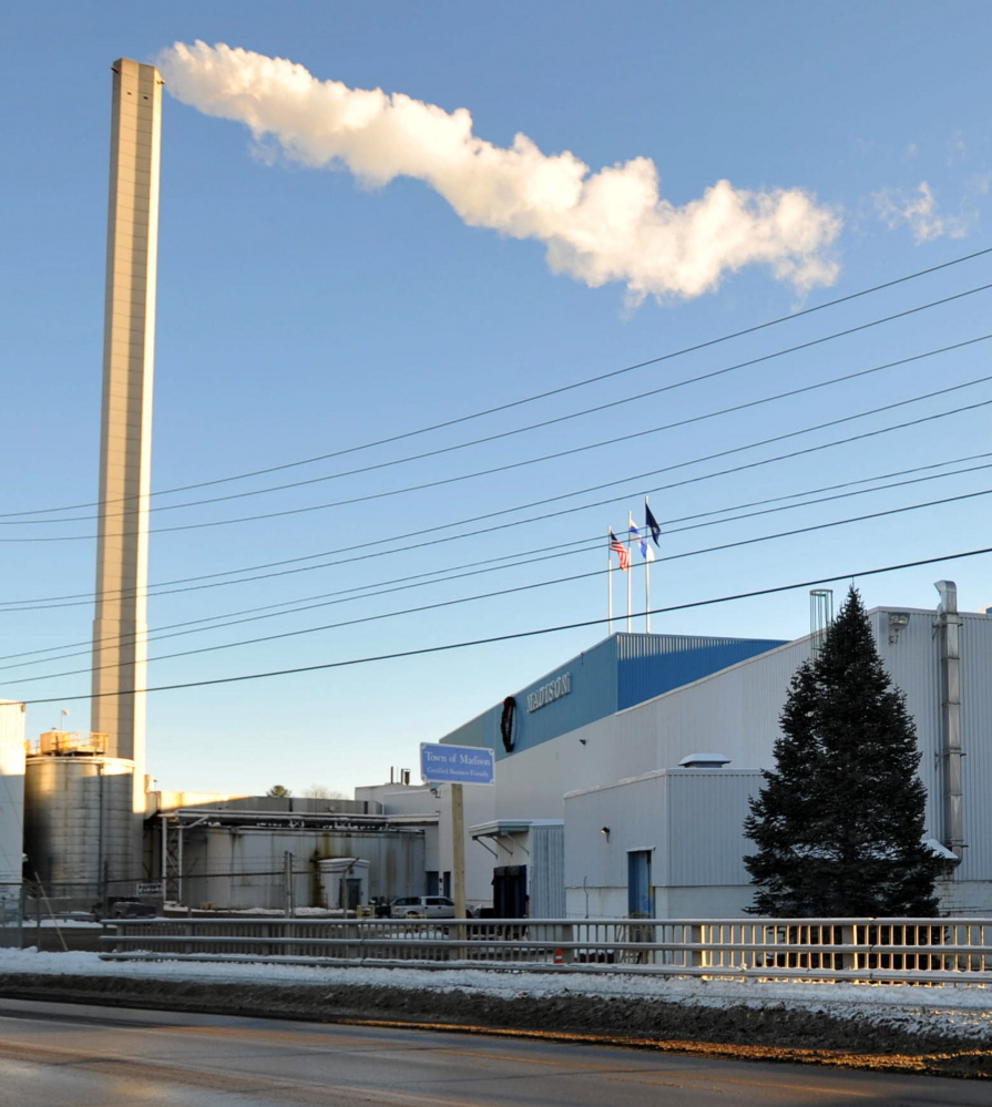 The shutdown of the paper mill in Madison is expected to reverberate throughout the Somerset County town of about 4,800 people.
