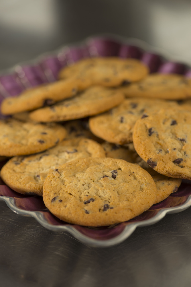 When considering a switch to the vegan Just Mayo product made by Hampton Creek, the University of Maine dining department learned about the vegan cookies from the same company and have added four flavors to the daily dining hall offerings, including chocolate chip.