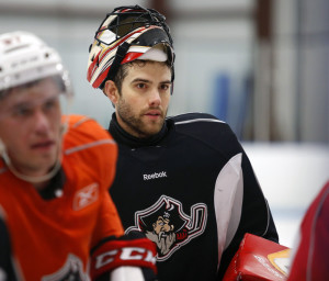 In his third year as a goalie for the Portland Pirates, Mike McKenna has made a point of embracing the city's wealth of dine-out options.