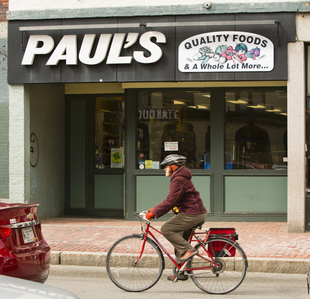 The Congress Street building that houses Paul's Food Center has been sold and the grocery store is expected to close in about three weeks.