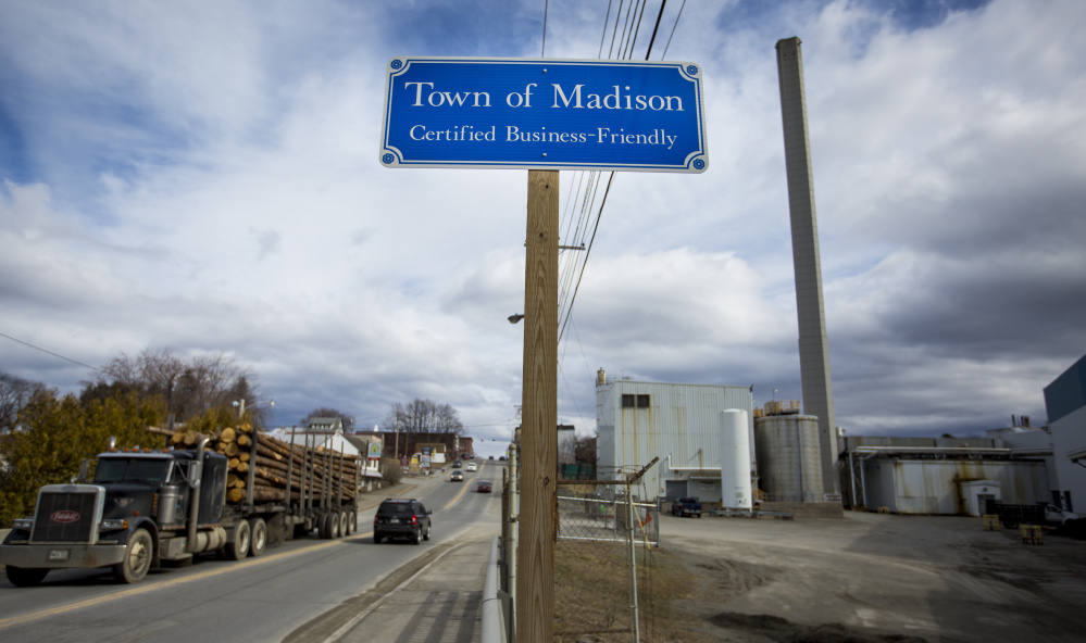 Madison, facing the loss of hundreds of jobs and the town's largest taxpayer when Madison Paper Industries closes its mill this spring, offers a glimpse of how economic hardship in rural, mostly-white communities has had a profound effect on the U.S. presidential race.