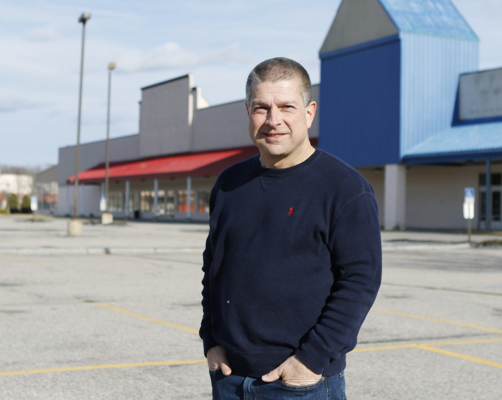 Pastor Scott Taube credits his church's growth into the former HomeGoods and Bob's Discount Furniture stores to building relationships. Joel Page/Staff Photographer