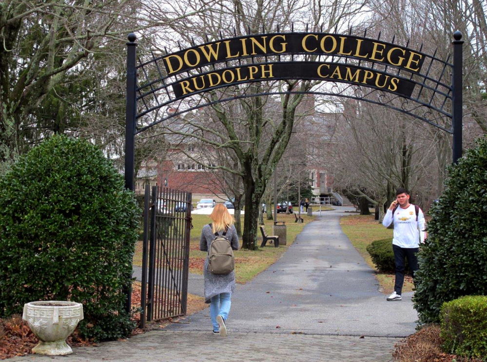Dowling College in Oakdale, N.Y., is among a growing number of small liberal arts colleges facing enrollment and financial difficulties in the aftermath of the Great Recession.