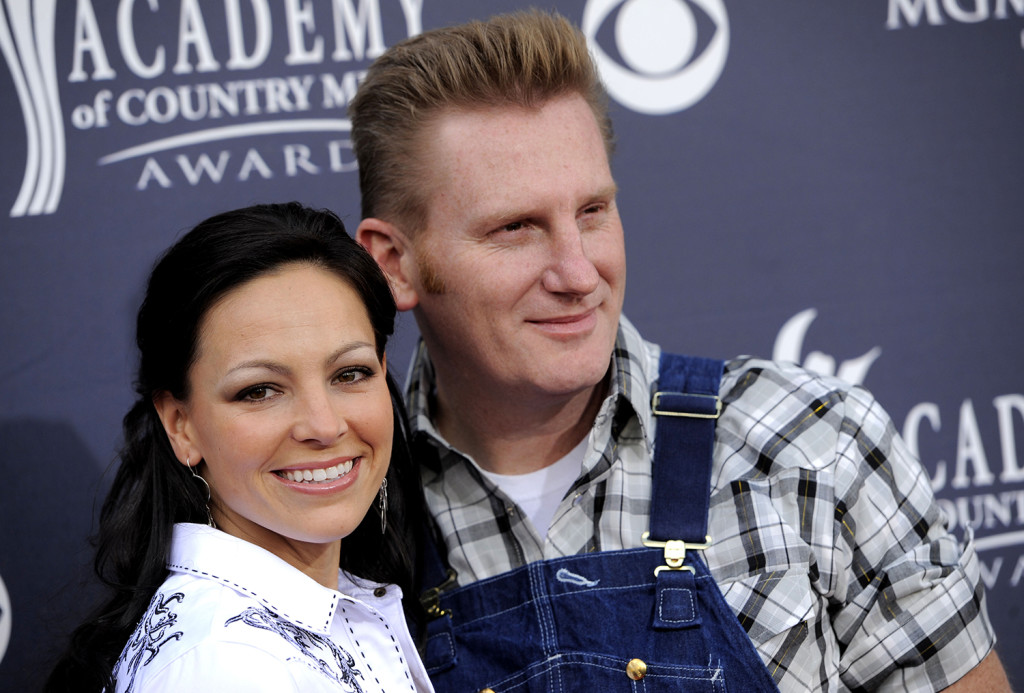 In this April 3, 2011, file photo, Joey Martin Feek, left, and husband Rory Lee Feek, of