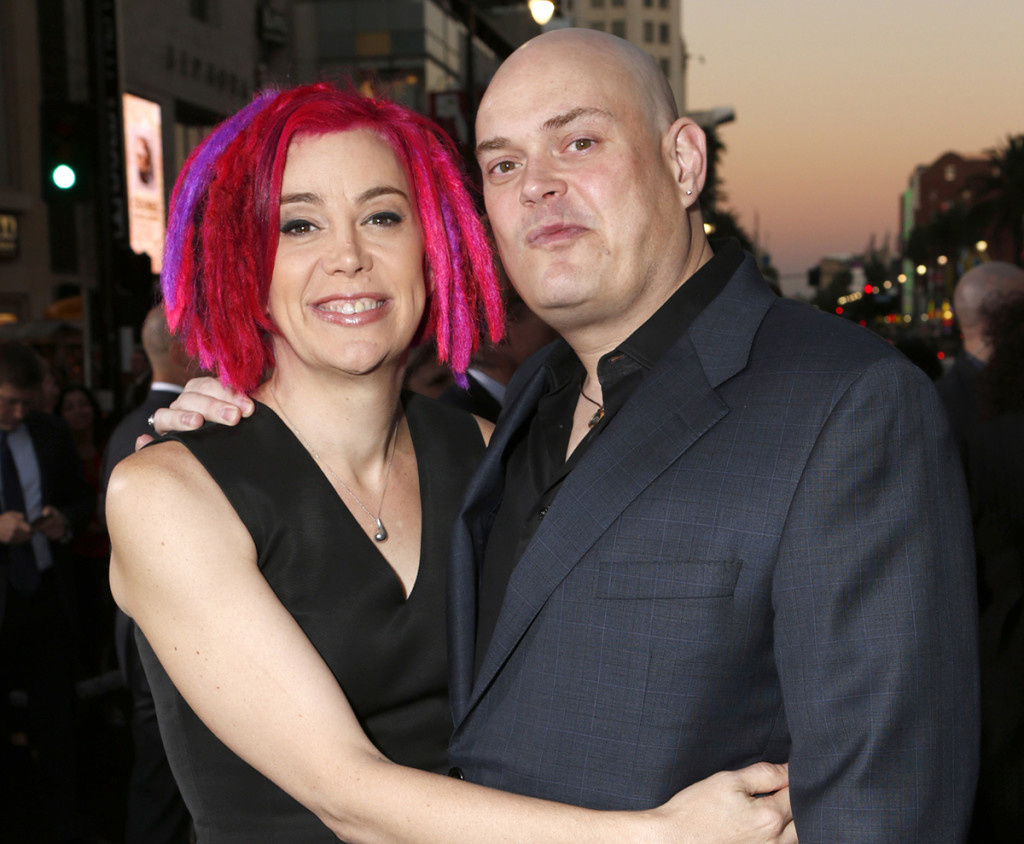 In this Oct. 24, 2012, photo, co-directors Lana Wachowski and then-Andy Wachowski arrive at the Los Angeles premiere of