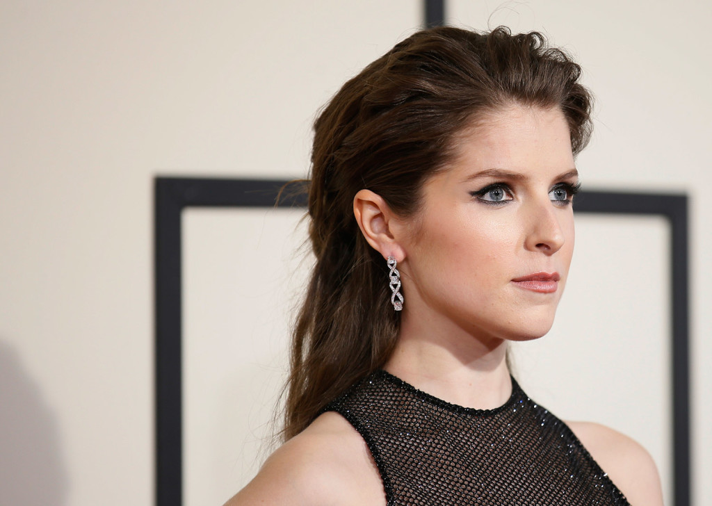Actress Anna Kendrick arrives at the 58th Grammy Awards in Los Angeles in this Feb. 15 file photo. Kendrick was recently invited to be a guest editor for