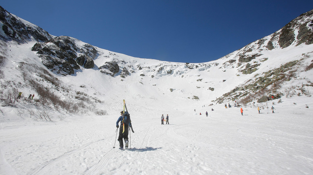 Hoping For Spring Skiing Better Hurry To Tuckerman Ravine