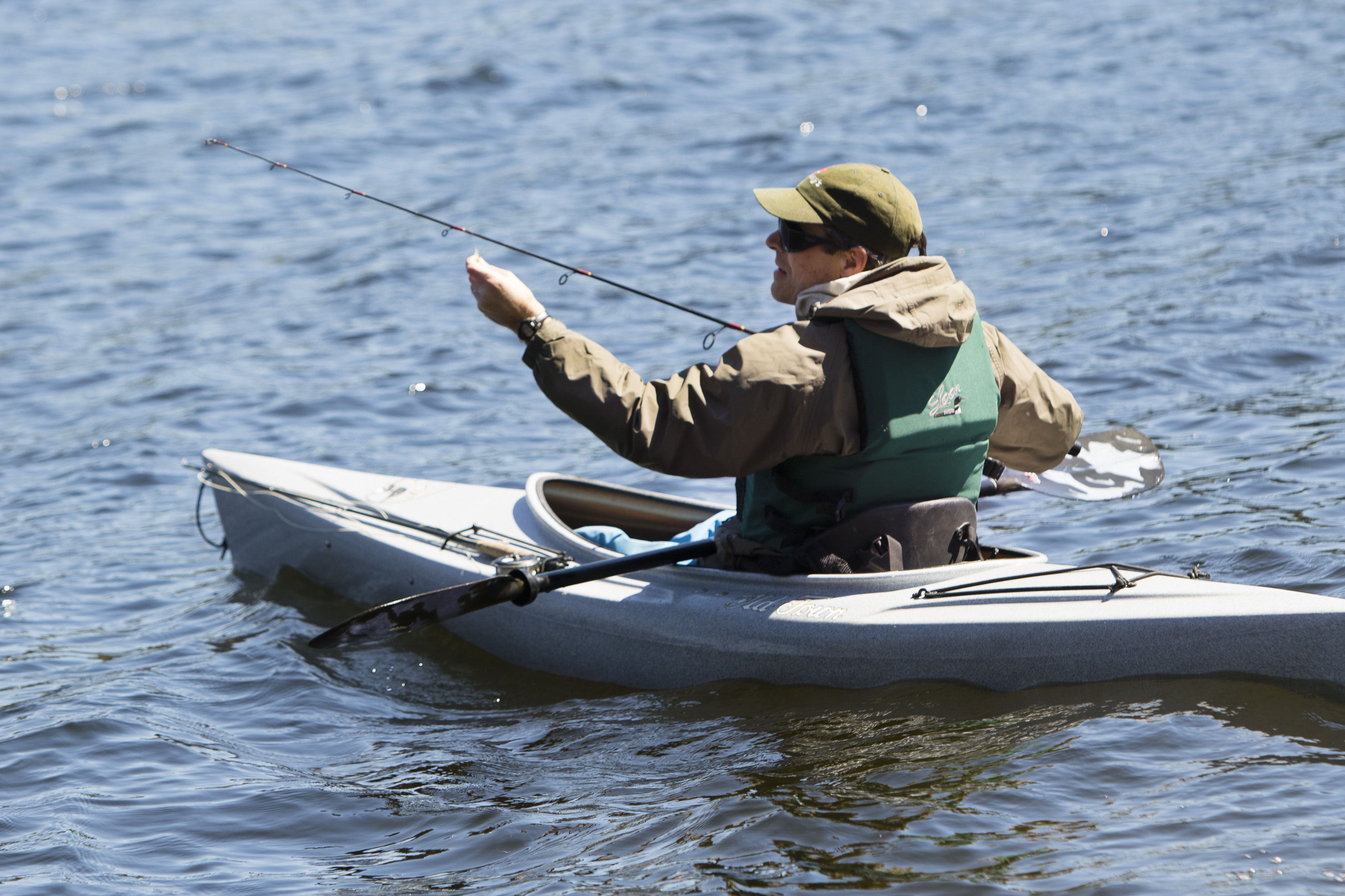 Fishing season off to a fast chilly start in maine the for Maine state fish