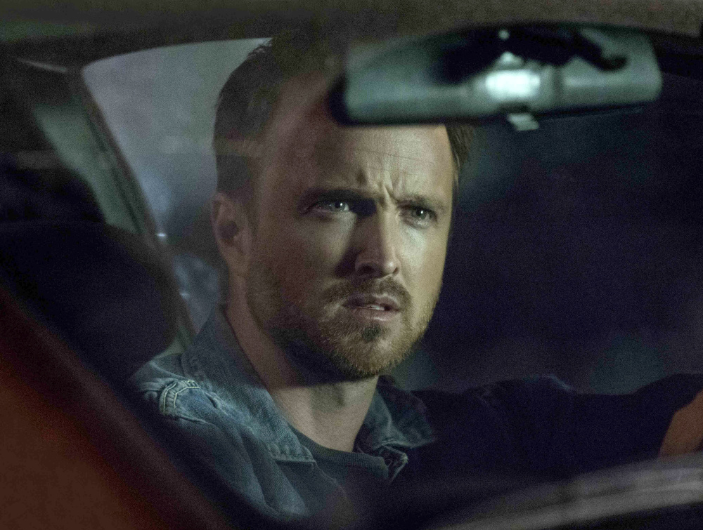 "Aaron Paul as Eddie Lane in Hulu's ""The Path."""